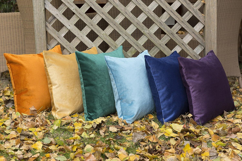 McAlister Textiles Textiles Textiles Matter Samt   Sofakissen mit Füllung in Mokka Braun   60 x 40cm   griffester Samt edel paspeliert   in 24 Farben erhältlich   prall gefülltes Samtkissen B07B6744Q5 Zierkissen f4946d