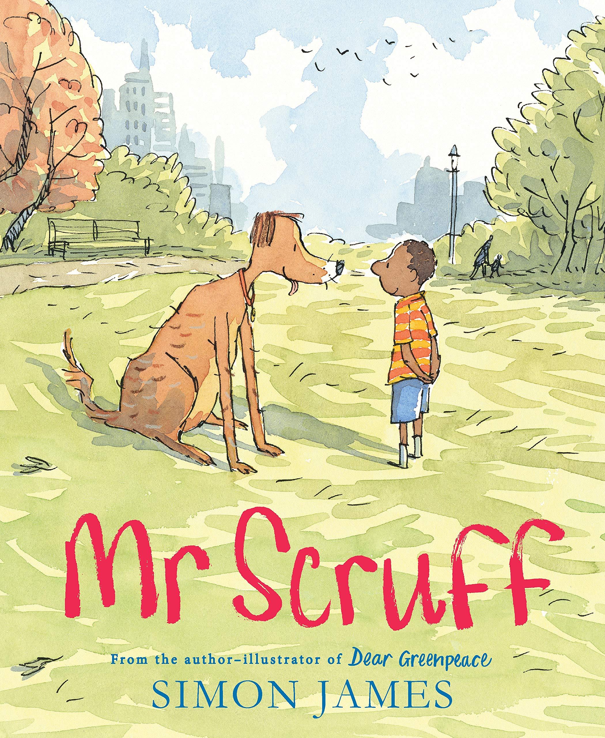 Mr Scruff - Black Protagonists in Books