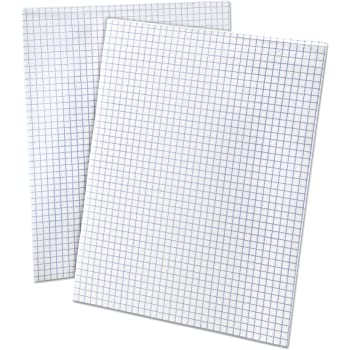 amazon com norcom quad filler paper 10 1 2 x 8 4 squares inch