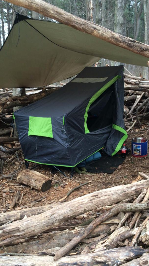 Amazon Com Ozark Trail 1 Person Instant Tent Cot With
