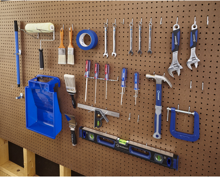 47-Pack Steel Assorted Pegboard Hooks at Lowes.com