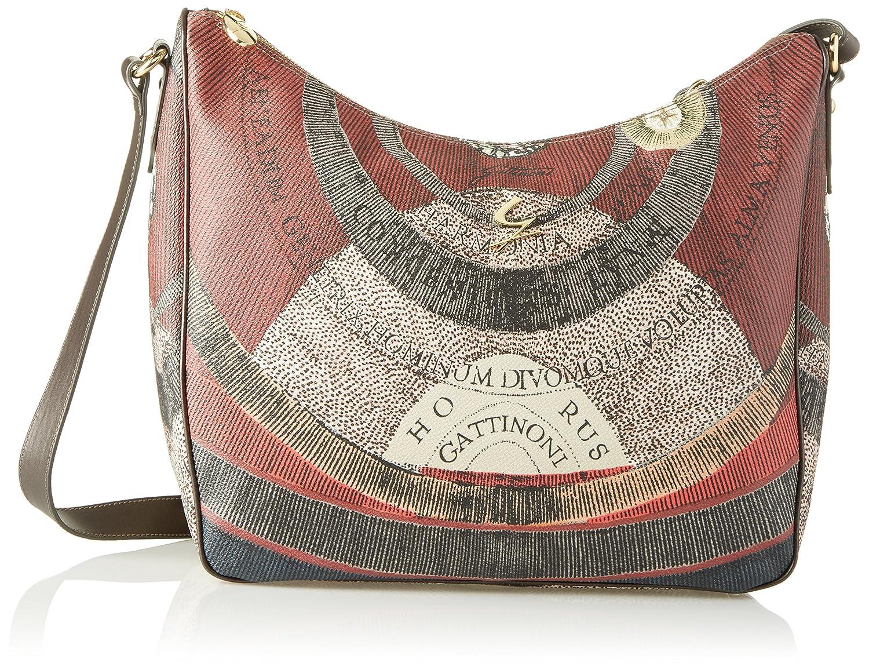 Grey (Tibetan 500) Gattinoni Women's Gplb025 Crossbody Bag