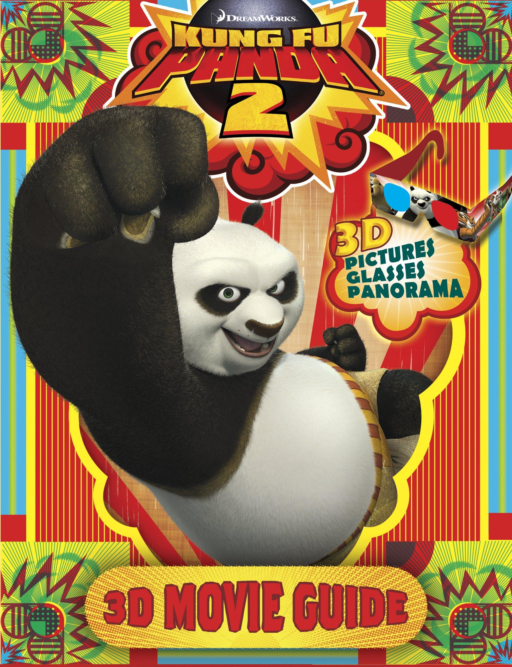 Kung Fu Panda 2 3d Movie Guide Amazon Co Uk Various Books