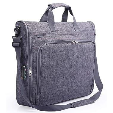 Magictodoor Anti-Gravity Carry On Garment Bag for Travel & Business 42  w/Anti-theft Tsa Lock