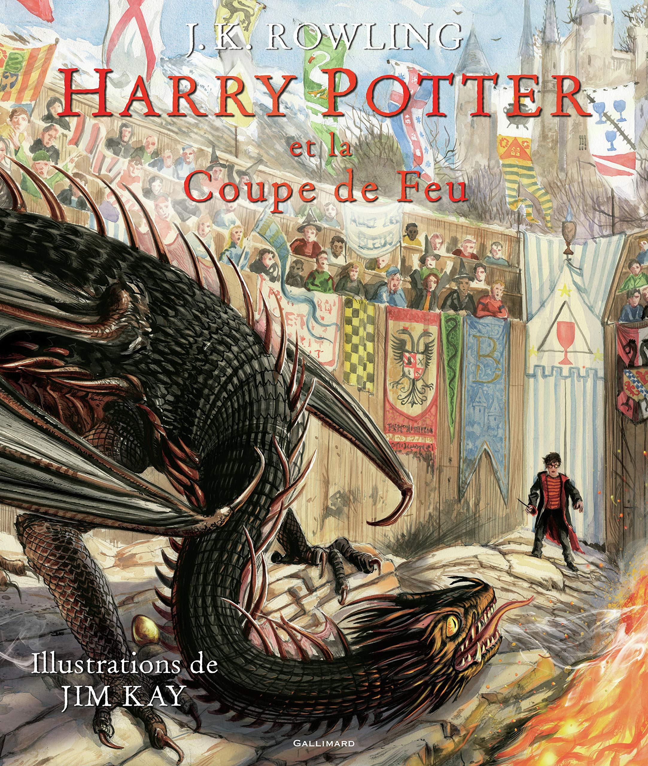 Harry Potter, IV : Harry Potter et la Coupe de Feu: Amazon.fr:  Rowling,J.K., Kay,Jim, Ménard,Jean-François: Livres
