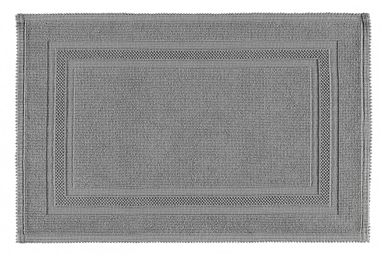 Rhomtuft Badteppich Grace - kiesel 85 - 70 x 120 cm