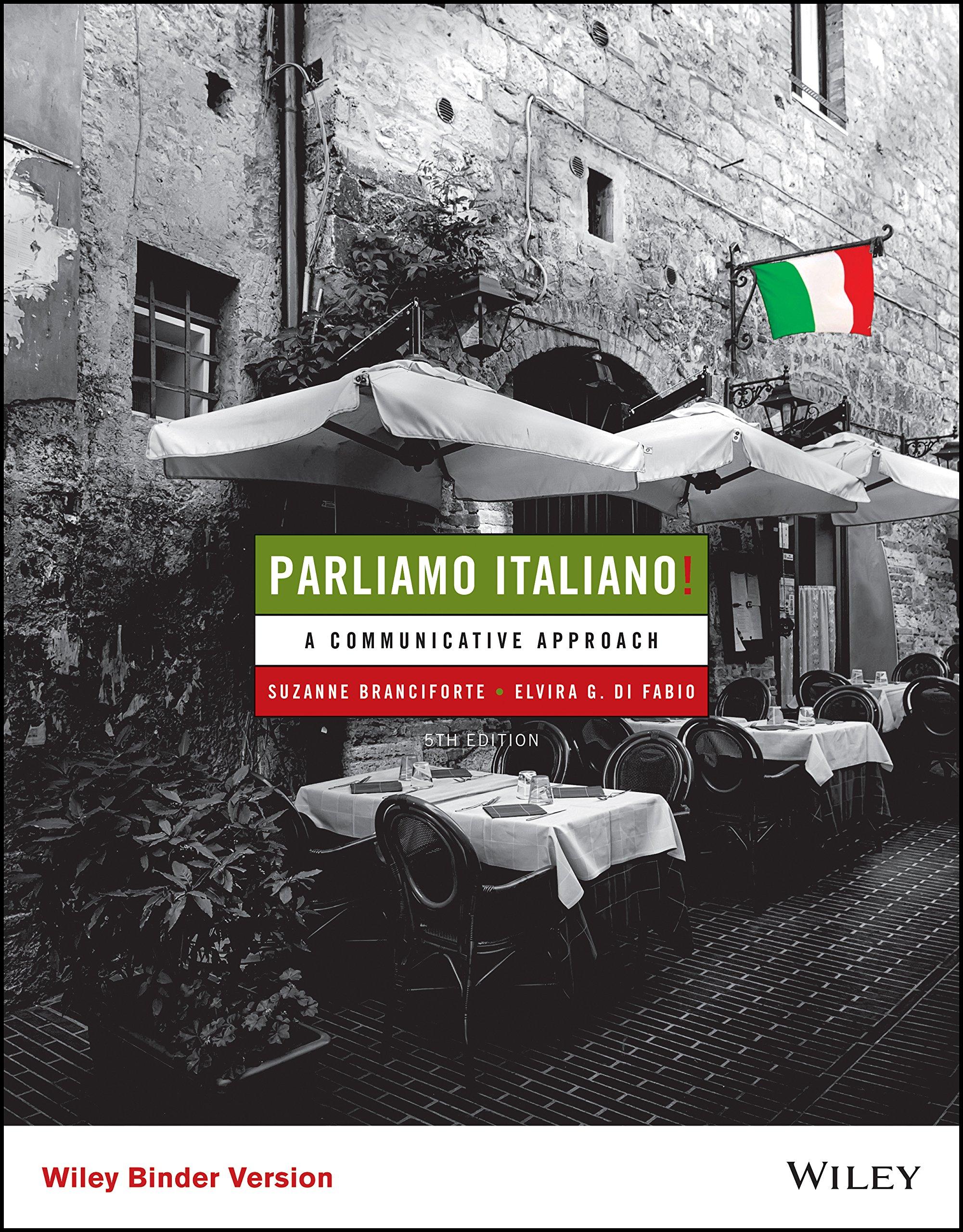 Parliamo Italiano Edition 5 A Communicative Approach Kindle Edition By Branciforte Suzanne Di Fabio Elvira Miele Gina M Reference Kindle Ebooks Amazon Com