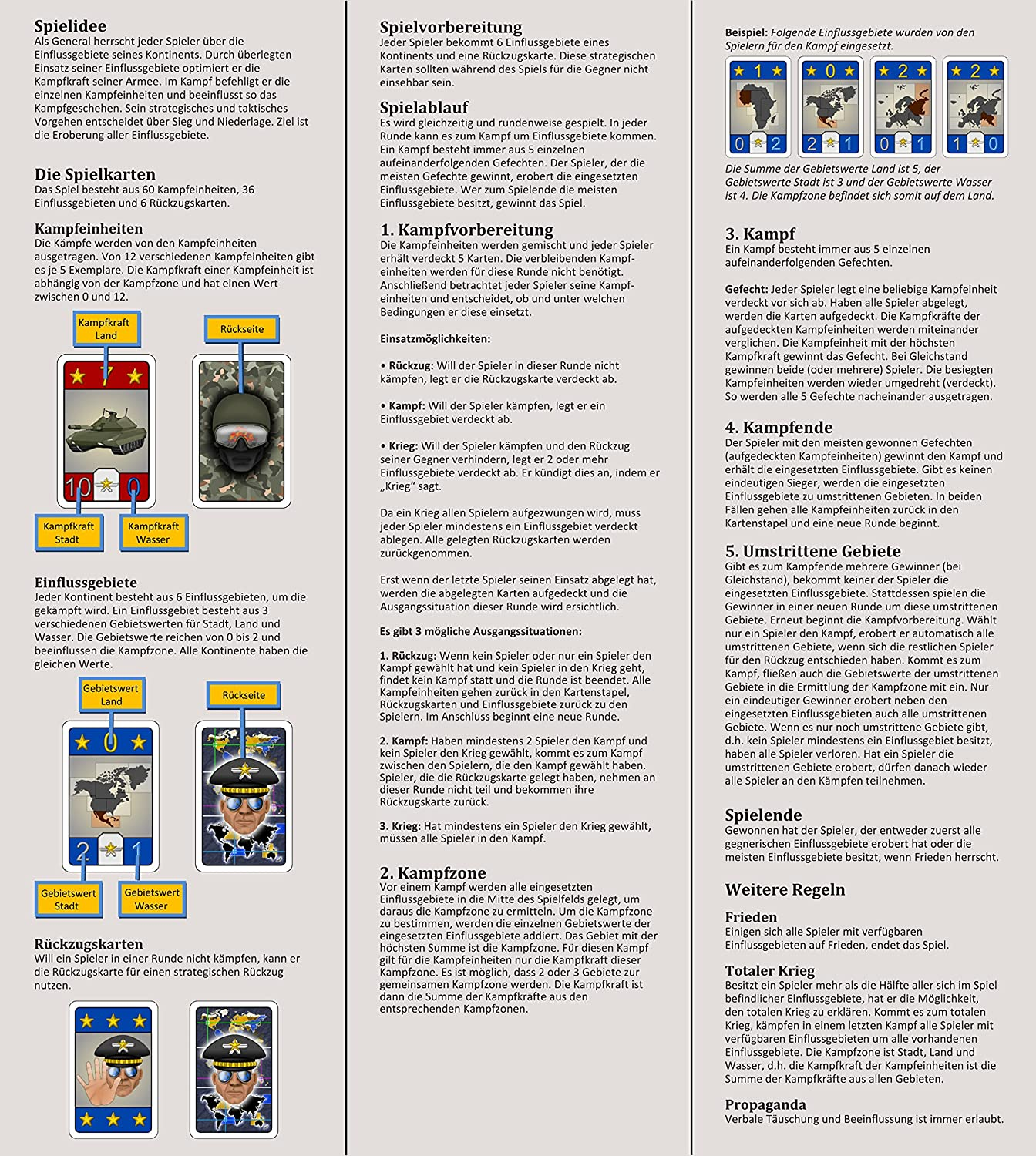 General - The simple and exciting game for 2-6 players, ages 8+ ...