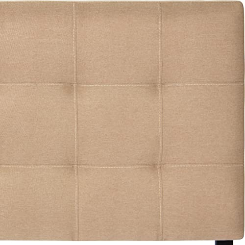 Best Choice Products Upholstered Tufted Fabric Queen Headboard