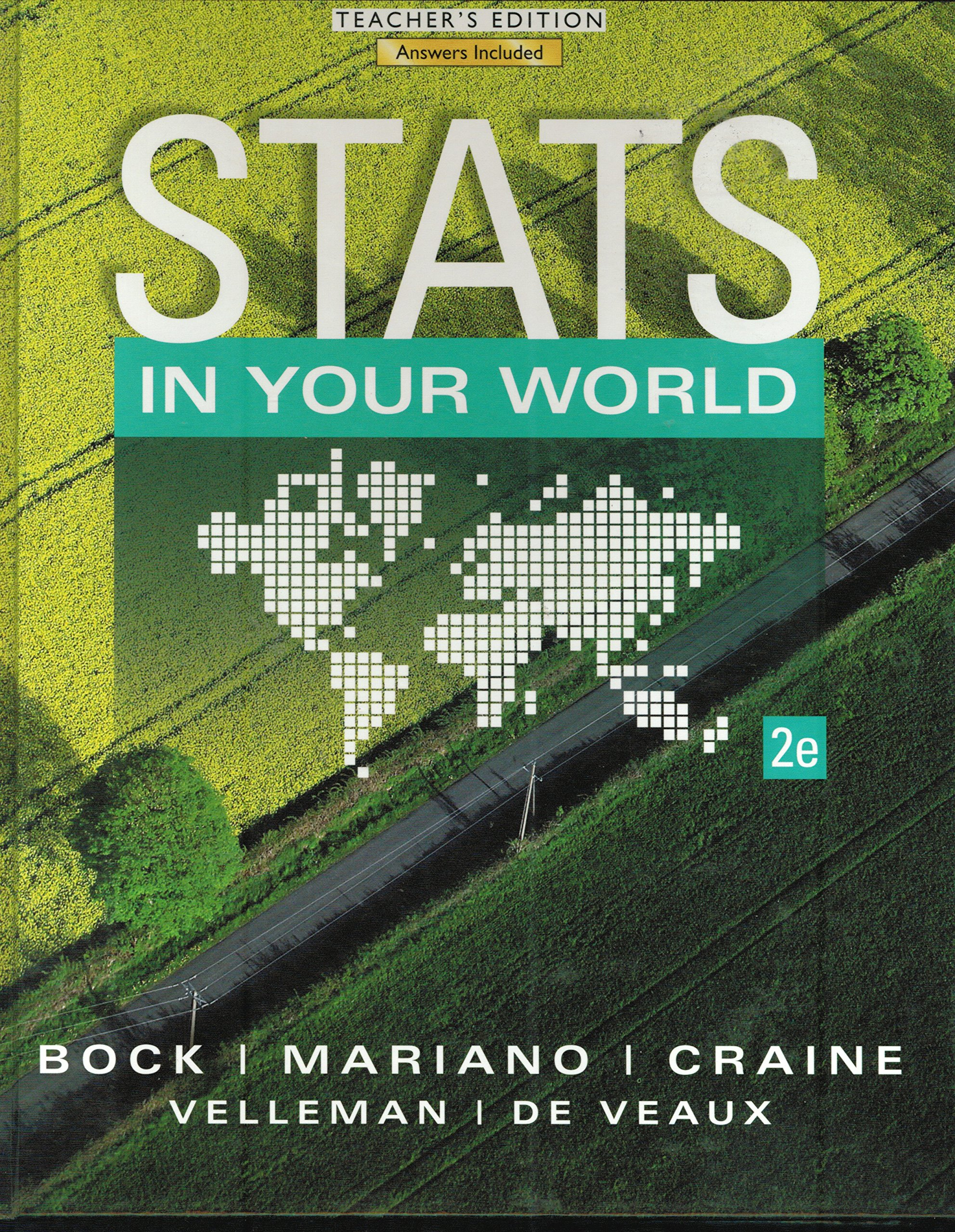 Stats in Your World Teacher's Edition: 9780133839944: Amazon