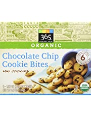 365 Everyday Value Organic Chocolate Chip Cookie Bites, 1.05 oz, 6 Count