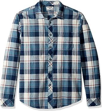 Billabong Hombre M523QBCF-PKZ-M Manga Larga Camisa de botones ...