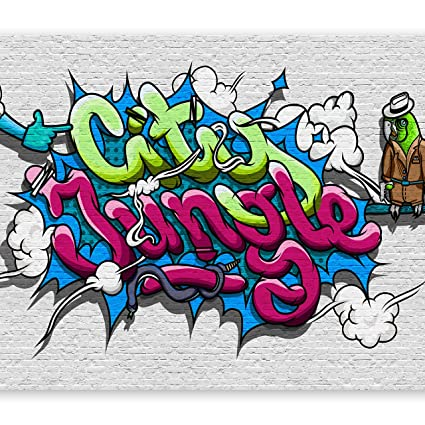 Graffiti Farben.Vlies Fototapete 200x140 Cm 3 Farben Zur Auswahl Top