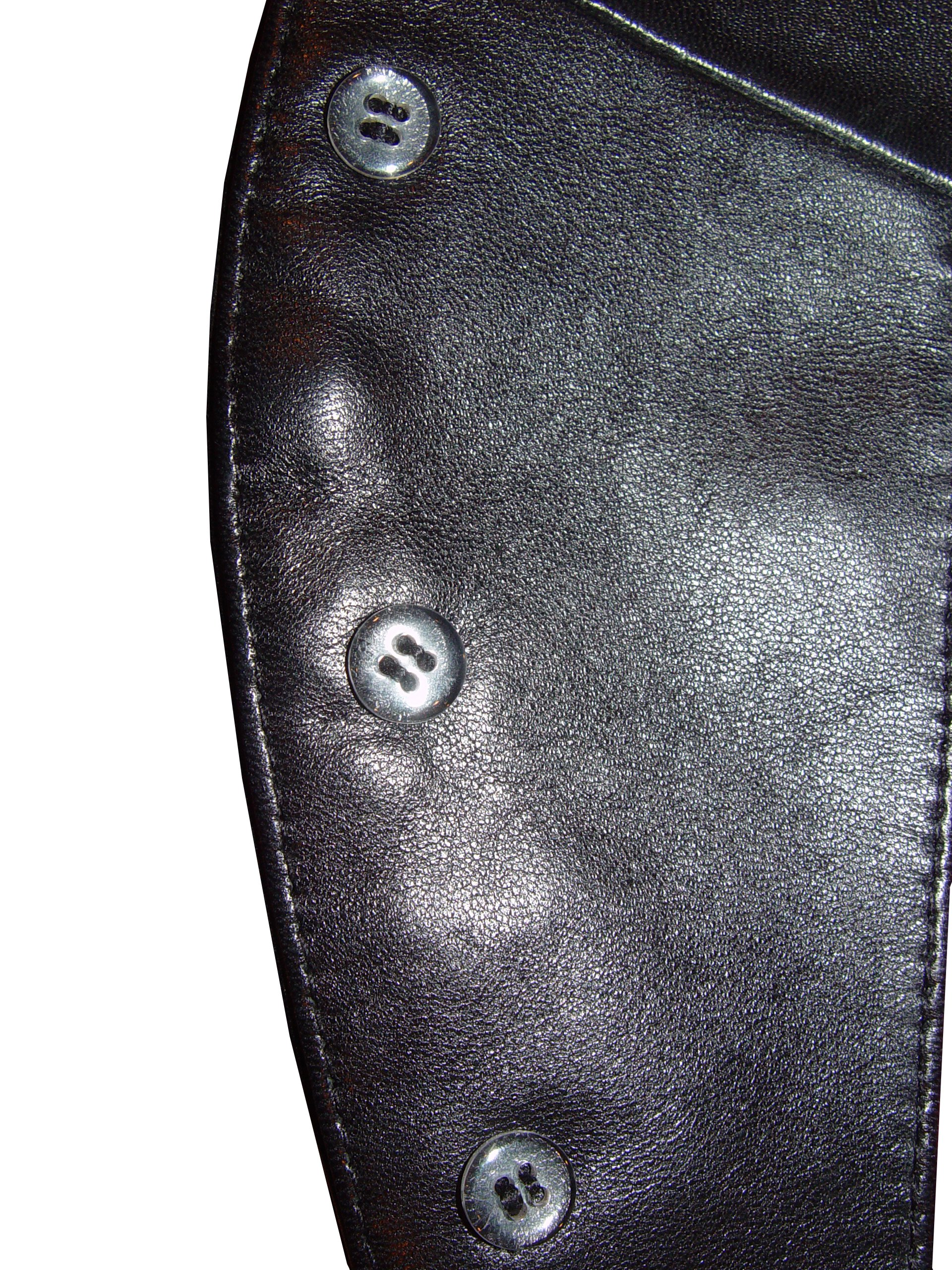Nettailor 1095 Real Lamb Fine Leather Fitted Sports Blazer Pea Coat by NETTAILOR (Image #4)