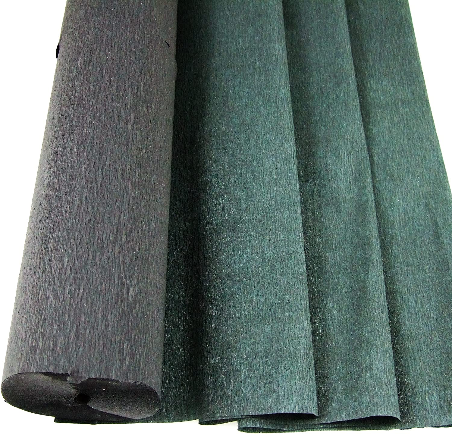 1 Black - Jumbo 26 Metre Crepe Paper Roll. 50cm x 26metres long Many uses as decorations, marketing tools, great favourite with schools and the craft industry Clikkabox Crepe C60V