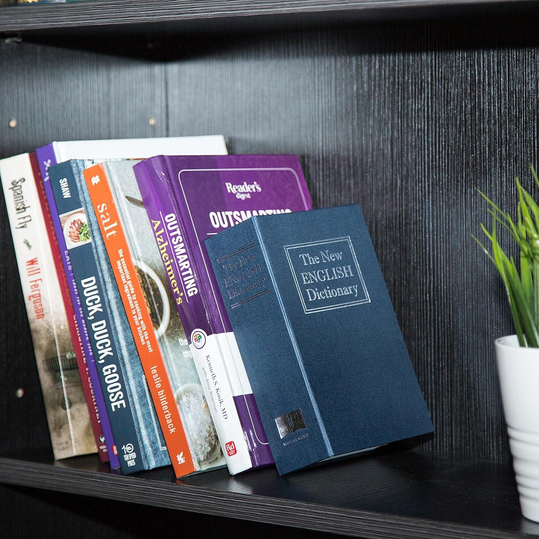 Amazon.com: AmazonBasics Book Safe - Key Lock, Small, Blue: Home ...