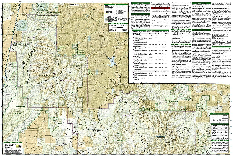 Amazon.com: Zion National Park (National Geographic Trails ...