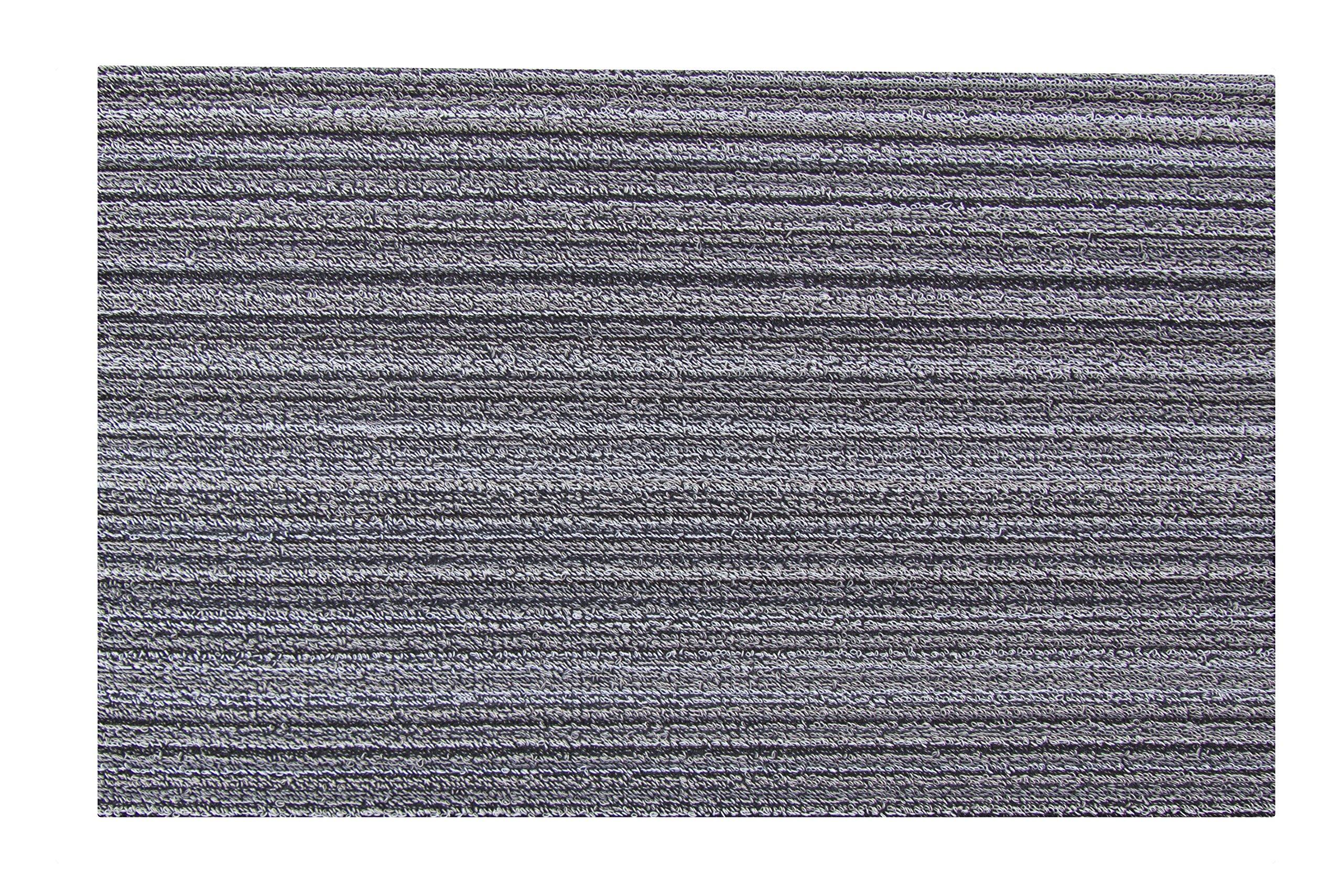 Chilewich Skinny Stripe Doormat, 18 by 28-Inch, Birch by Chilewich (Image #3)