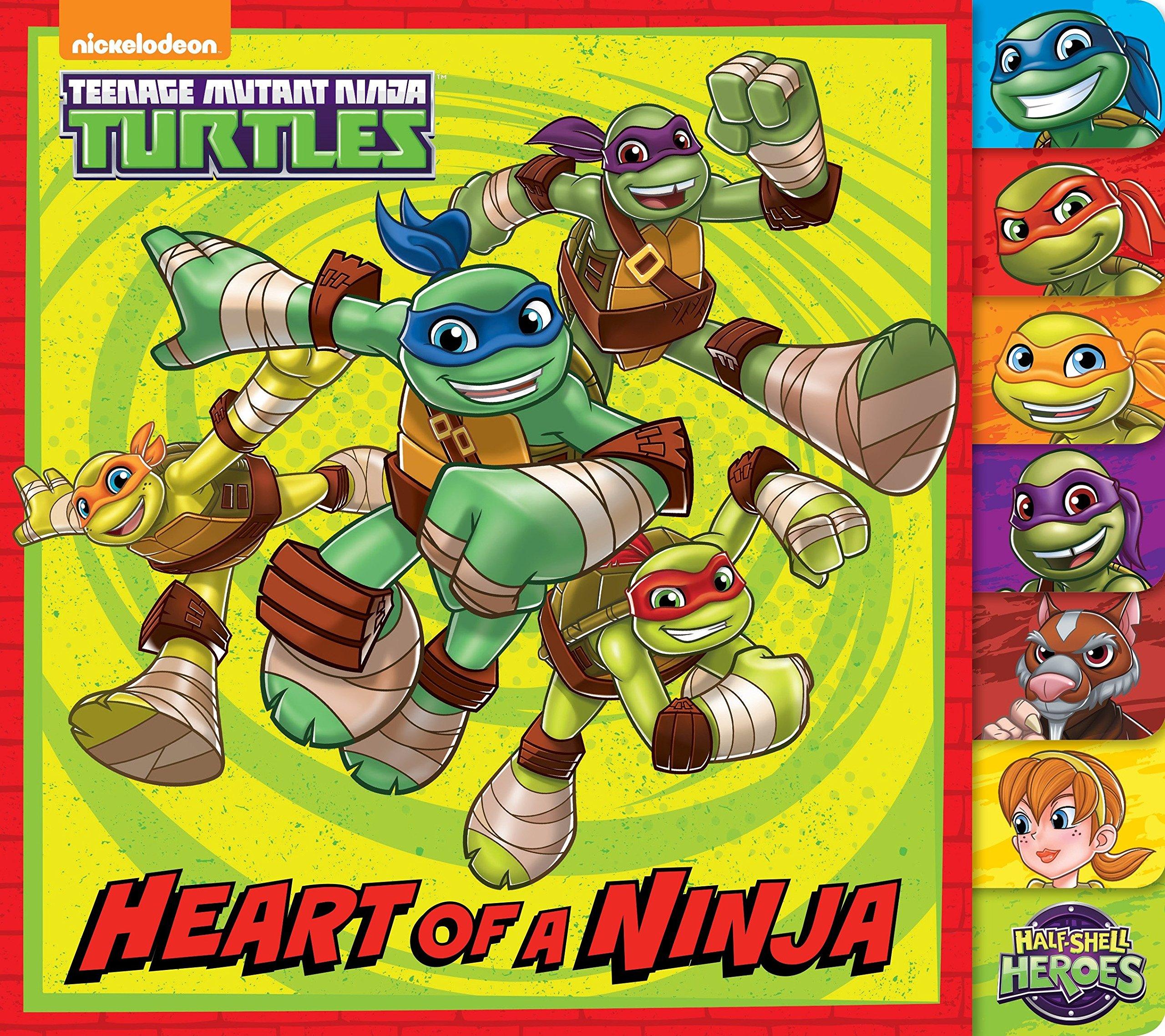 Heart of a Ninja (Teenage Mutant Ninja Turtles): Amazon.es ...