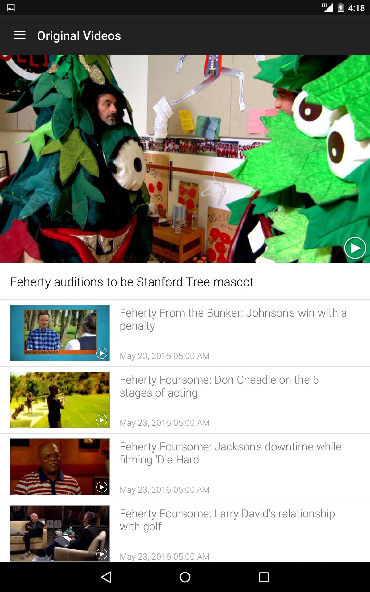 golf channel mobile appstore for android. Black Bedroom Furniture Sets. Home Design Ideas