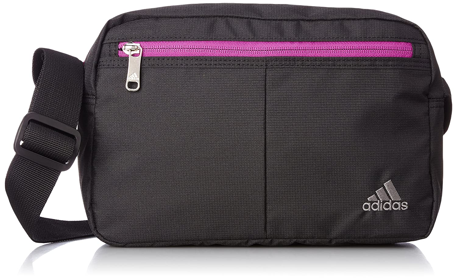 Amazon.com  adidas Shoulder bag (Pink black)  Clothing 0383ac9508e1d