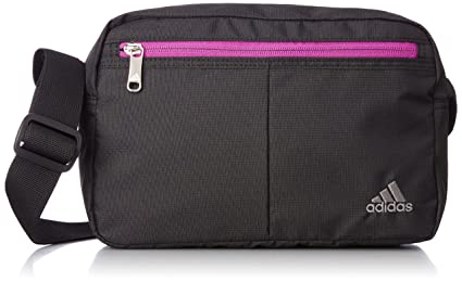 939cb5e09ec2 Amazon.com  adidas Shoulder bag (Pink black)  Clothing