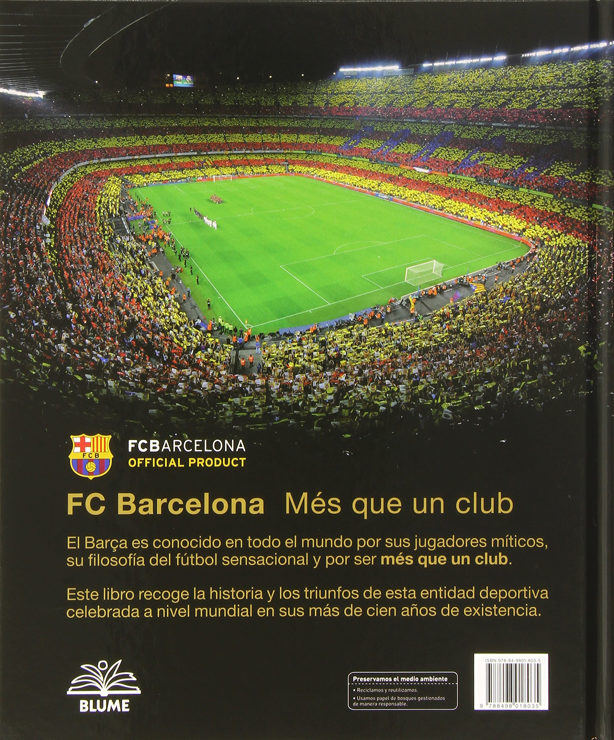 Mas Que Un Club Barcelona. Fc Barcelona Hymn Song With