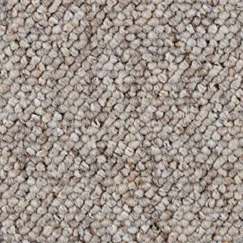 300 400 und 500 cm breit verschiedene L/ängen Teppichboden Auslegware Meterware Schlinge meliert grau braun 200