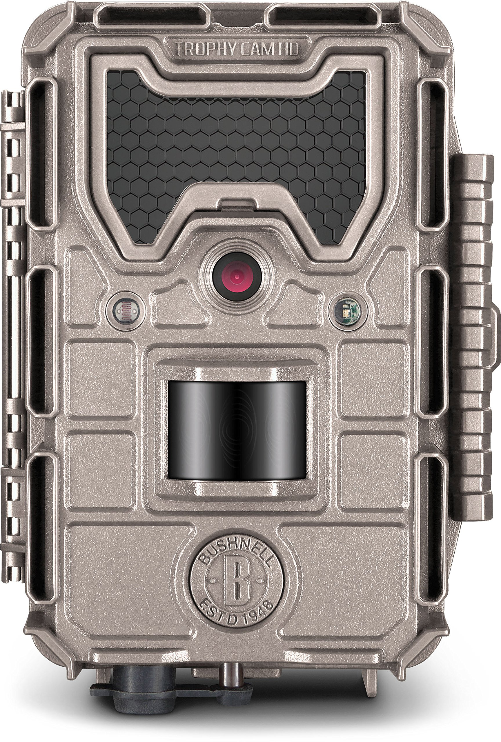 Bushnell 119876C Trophy Cam Aggressor HD Camera, 20 Megapixel, No Glow, Tan by Bushnell (Image #1)