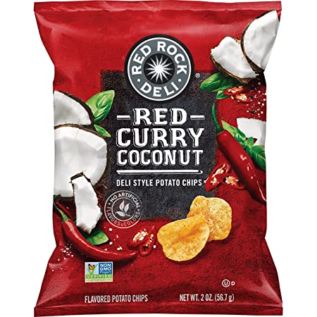 amazon com red rock deli style potato chips variety pack 2 ounce 12 count grocery gourmet food