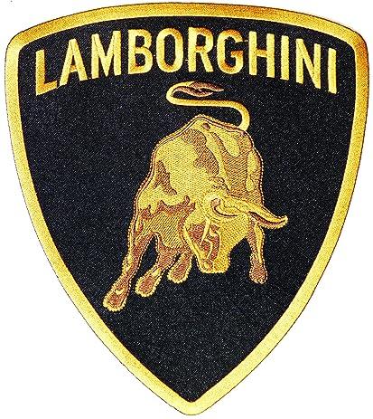 amazon com 9 75 xxl lamborghini logo sign motorsport car racing