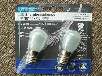 Kühlschrank Glühbirne Led : Doppelpack led mini glühlampe e w amazon elektronik