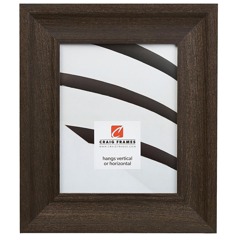 クレイグフレーム2.5driftwoodbk風化画像フレーム、木目仕上げ、2.5インチ、ブラック 11x16 ブラック 2.5DRIFTWOODBKC1116FAC B004F6IN04 11x16,ブラック
