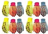 G & F 1852-3 Women Soft Jersey Garden Gloves, Women