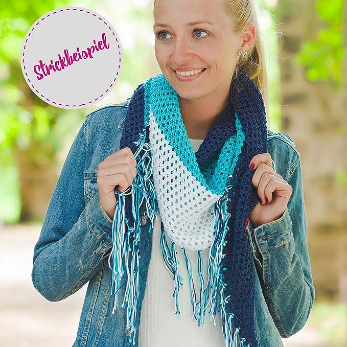 Algodón Para ganchillo * myoma Cotton Pure Color Blanco Perla (Fb 0101) * algodón hilo tejer + Gratis myoma Label - 1 Por Ovillo) algodón blanca/algodón ...