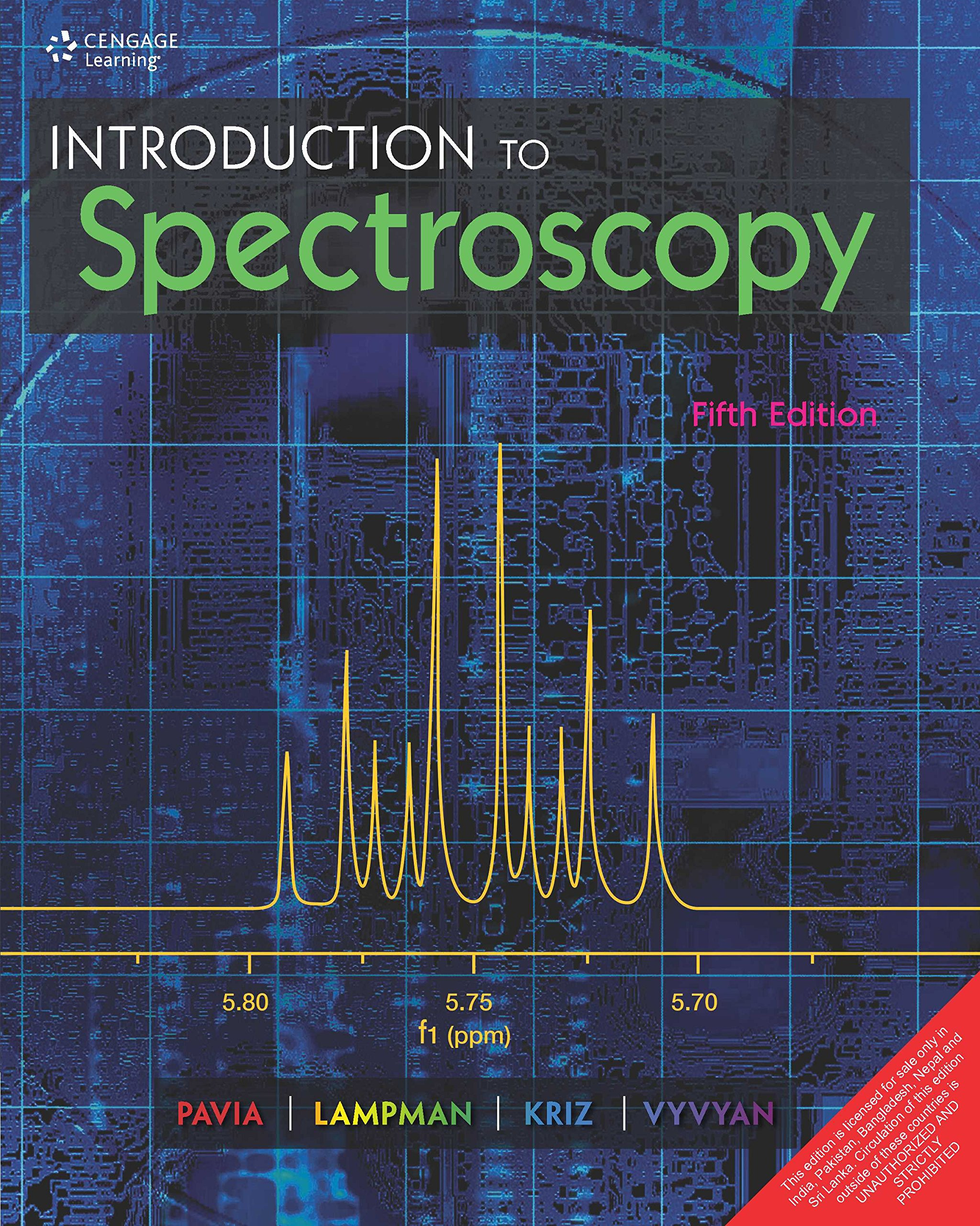 introduction to spectroscopy 5th edition pavia