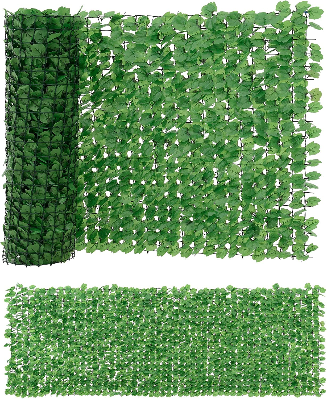 Neu Haus Blatterzaun 100 X 300 Cm Sichtschutz Balkon Umspannung