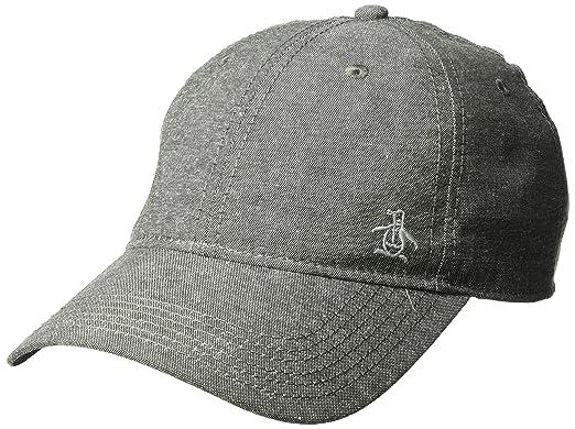 Amazon.com  Original Penguin Men s Chambray Baseball Cap 6e669c978a0c