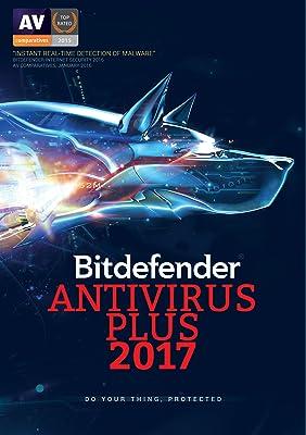 Bitdefender Antivirus Plus 2017 1 Device
