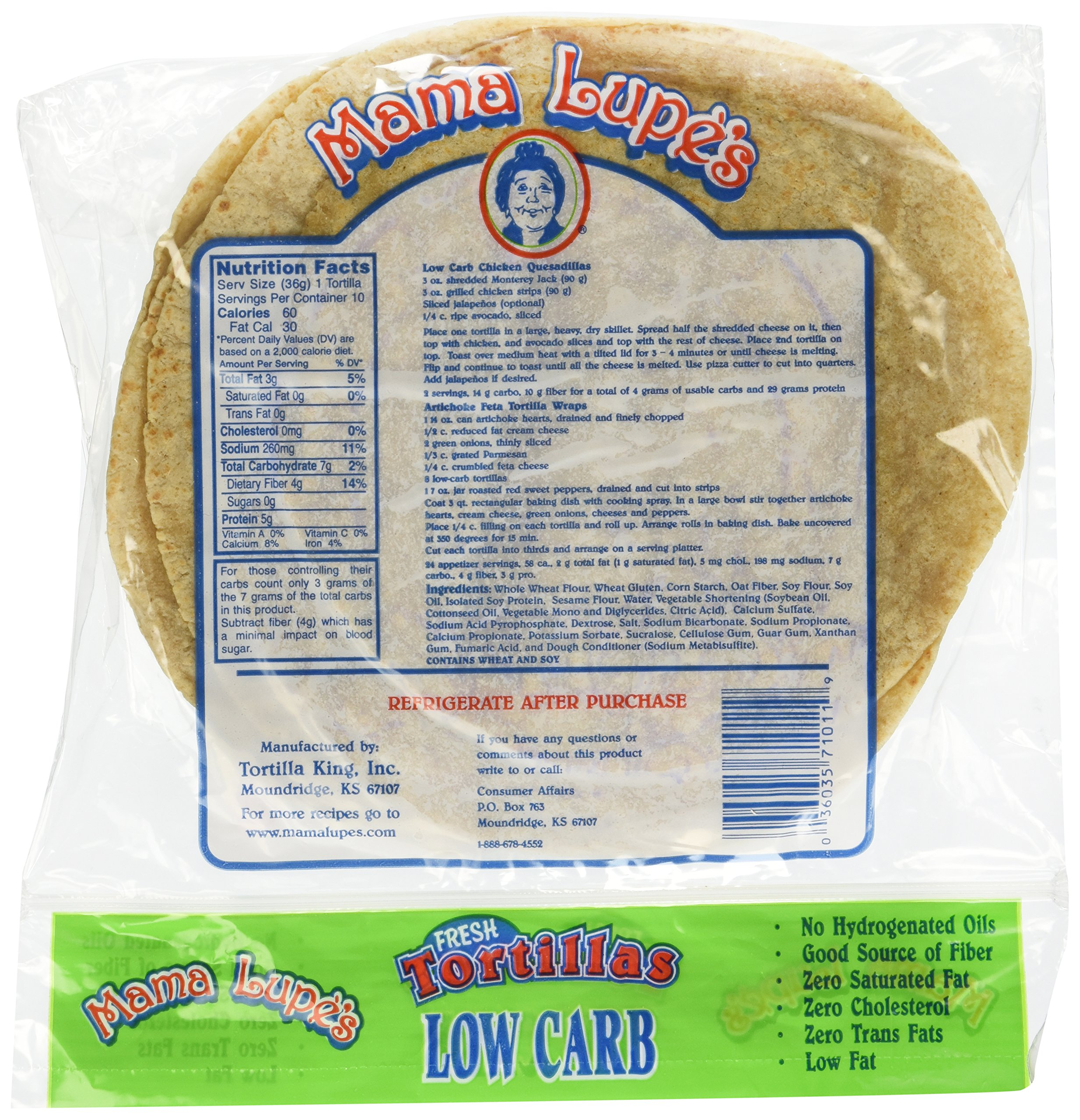 Mama Lupe Low Carb Tortillas Pack of 2 by Mama Lupe (Image #4)