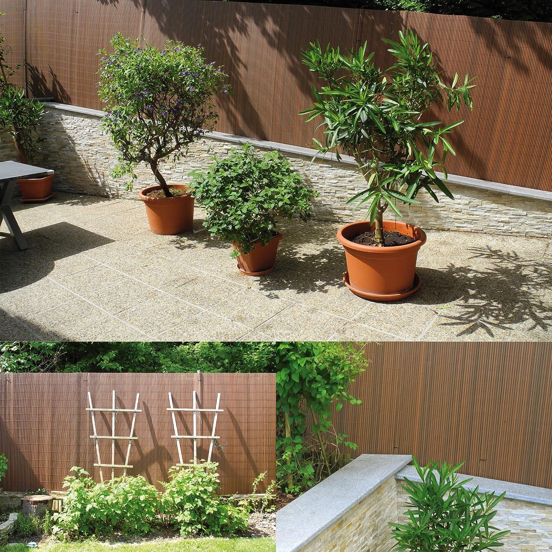 Amazon PVC Sichtschutzmatte Sichtschutzzaun für Garten