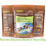 MoJo's Natural Glucosamine Hip and Joint Nutritional Supplement with Chondroitin and MSM for Dogs
