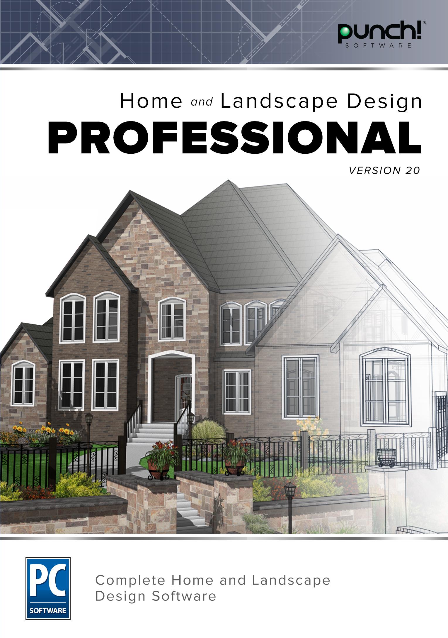 Punch! Home & Landscape Design Professional v20 [Download] by Encore