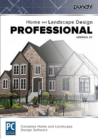 Amazoncom Punch Home Landscape Design Professional V20