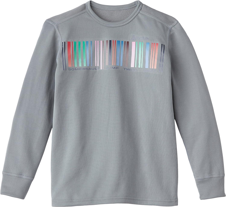 Odlo Originals Warm T-Shirt Chaud col Rond Fantaisie Manches Longues Mixte Enfant
