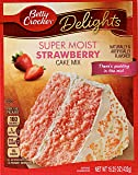 Betty Crocker Super Moist Cake Mix Strawberry 15.25 oz Box