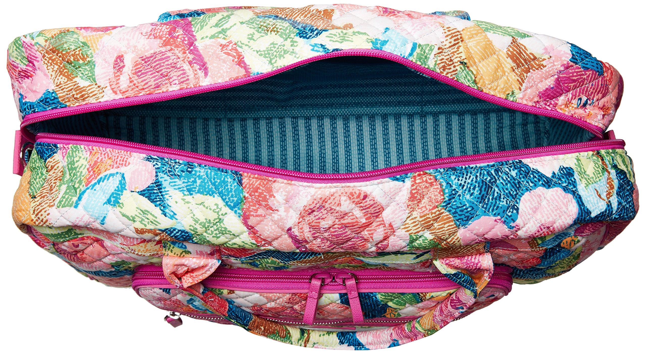 Vera Bradley Iconic Weekender Travel Bag, Signature Cotton, Superbloom by Vera Bradley (Image #6)