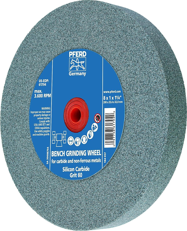 8500 rpm 7 Diameter PFERD Inc. PFERD 61238 CC-Grind-Solid Grinding Disc 5//8-11 Thread 7 Diameter
