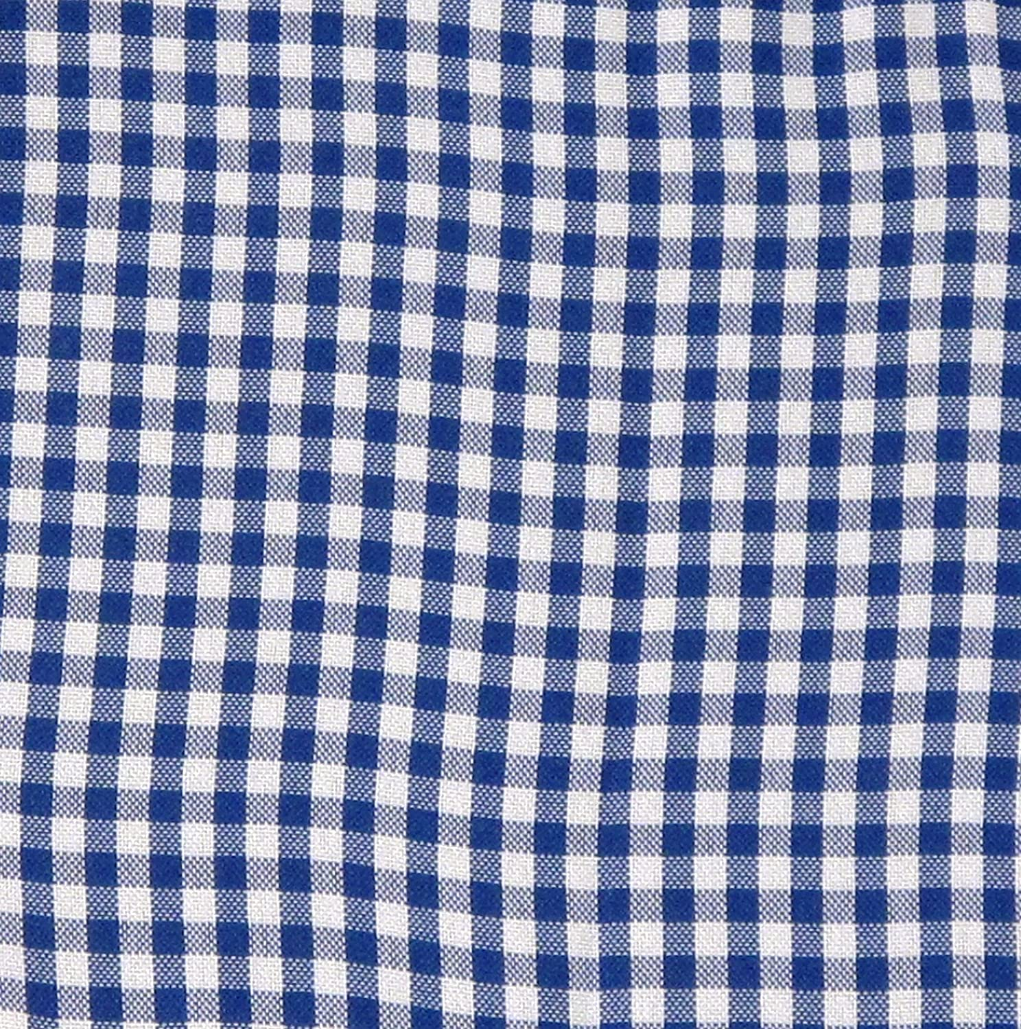 Gingham Pattern Cloth Liner – Navy