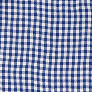 Gingham Pattern Cloth Liner - Navy